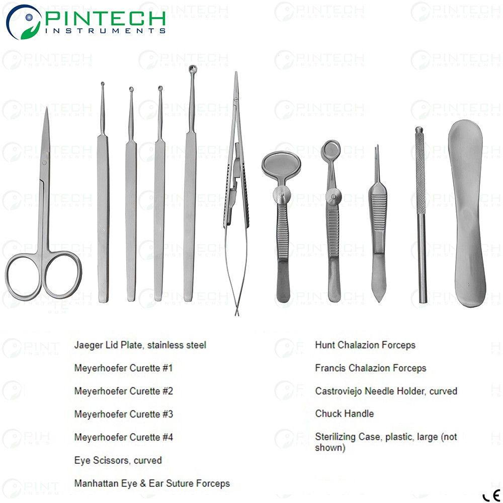 Chalazion Eye Surgery Set Ophthalmic Surgical Instruments