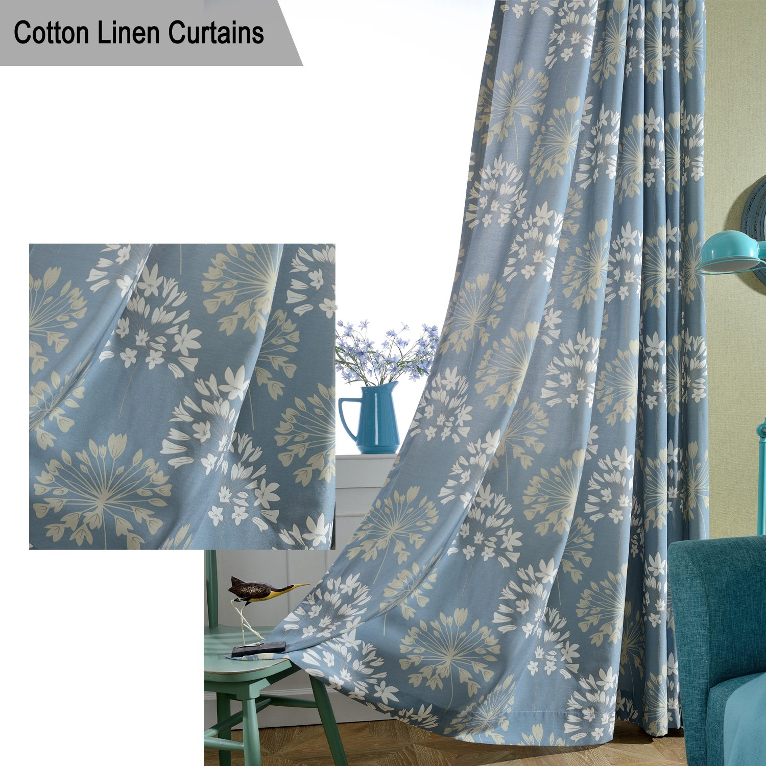 Cheap Blue Curtains Living Room Find Blue Curtains Living