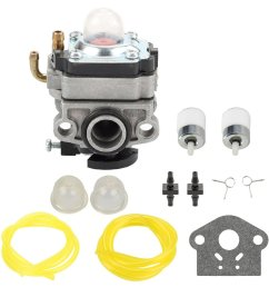 get quotations panari 753 1225 carburetor with fuel line filter for mtd troy bilt tb415cs tb425cs tb465ss [ 1000 x 1000 Pixel ]