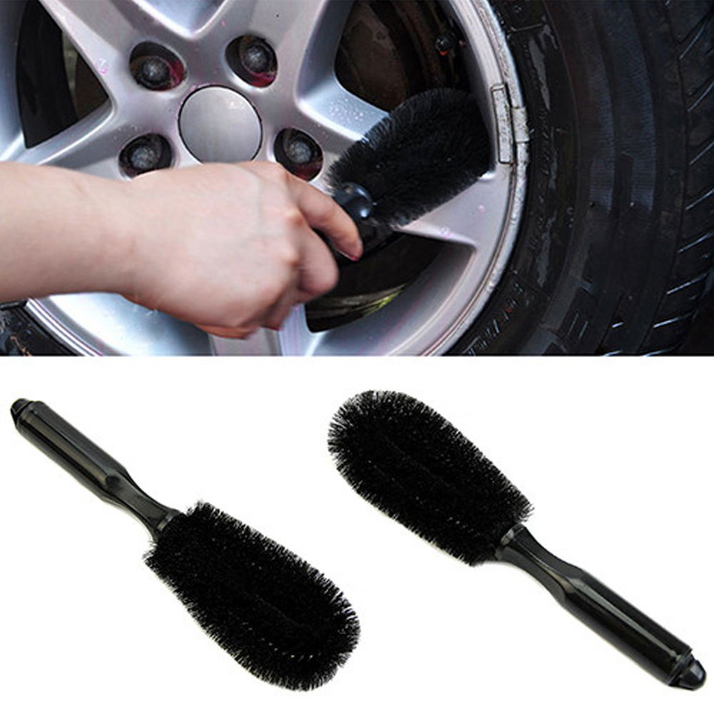 hight resolution of maaryee car wire wheel hub brush auto care premium luxury double loop car tire wheel wash brush cleaning rim hub wire vehicle washing tool pack of 2