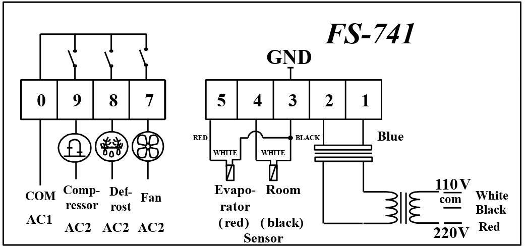 New Mold Digital 12v Refrigerator Thermostat Temperature