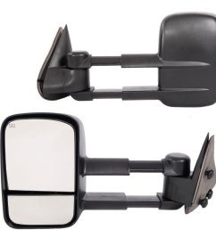 get quotations chevy towing mirrors for 2003 2007 chevy gmc avalanche silverado suburban tahoe sierra yukon [ 1000 x 1000 Pixel ]
