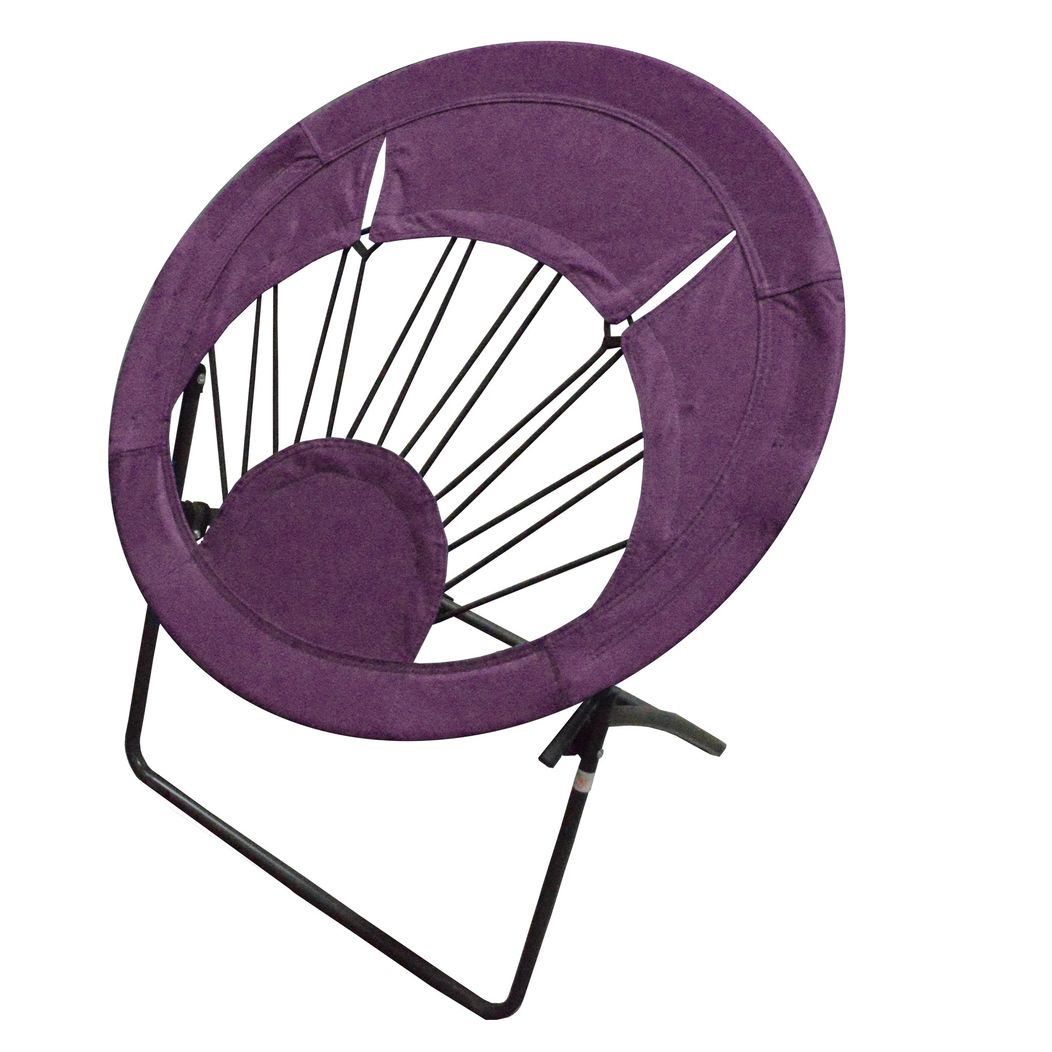 brookstone bungee chair wedding cover hire dorset cheap office find deals on line at impact canopy round portable folding purple