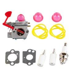 patio lawn garden replacement parts accessories carbhub wt 875 carburetor for craftsman poulan pro blower  [ 1000 x 1000 Pixel ]