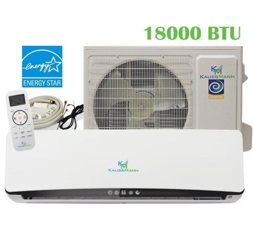 small resolution of get quotations 18000 btu 1 5 ton 23 3 seer ductless system mini split air conditioner