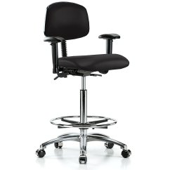 Swivel Chair On Carpet Anti Gravity Table Cheap Wheels For Find Deals Get Quotations Perch Chrome Multi Task With Foot Ring And Or Linoleum