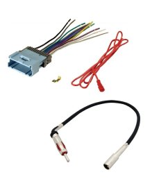 aftermarket car stereo radio receiver wiring harness radio antenna adapter for select chevrolet and pontiac [ 1000 x 1000 Pixel ]