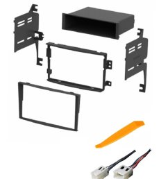 get quotations asc audio car stereo dash install kit and wire harness for installing an aftermarket radio for [ 1200 x 1459 Pixel ]