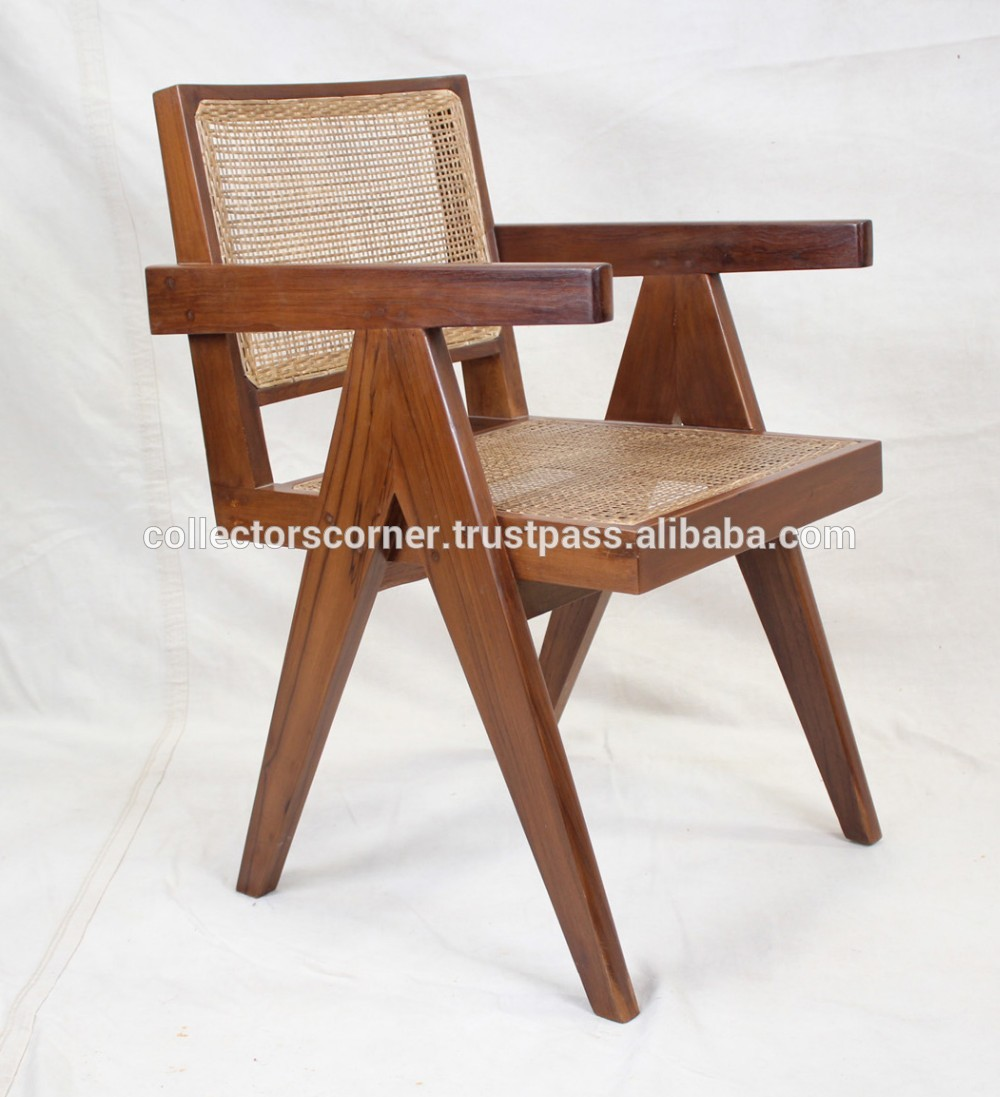 Replica Möbel Legal Pierre Jeanneret Le Corbusier Replik König Stuhl Solide Teakholz Hohe Qualität Esszimmer Stuhl - Buy High Quality Dining Wood Chair,fancy Dining Room Chairs,designer Chairs Product On Alibaba.com