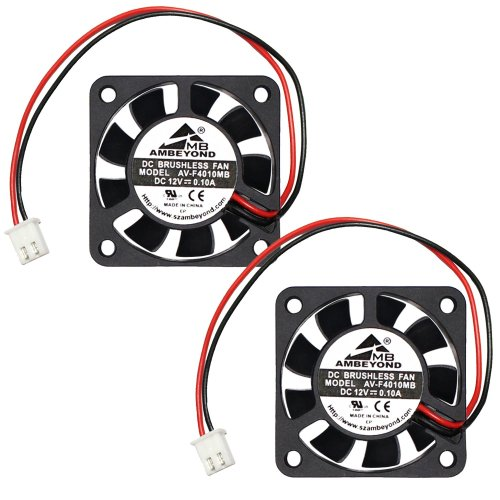 small resolution of get quotations 2 packs 40 x 40 x 10mm 4010 12v 0 10a brushless dc cooling fan
