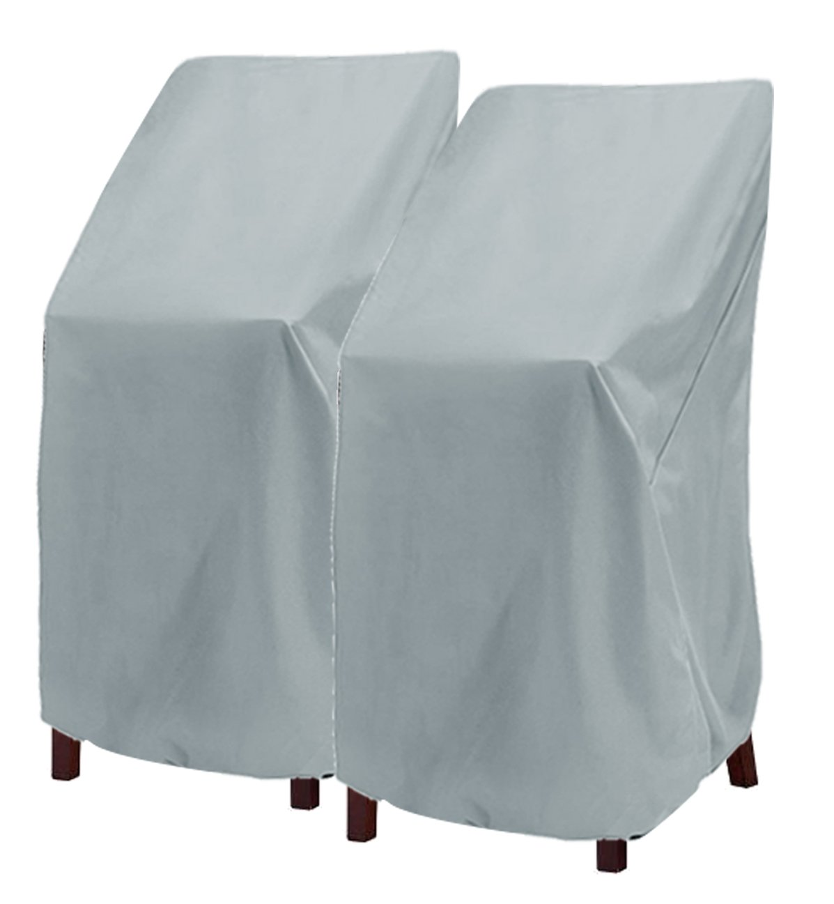 high back chair covers for sale farmhouse chairs buy patio cover highback durable waterproof outdoor bar stool stairs out furniture stackable