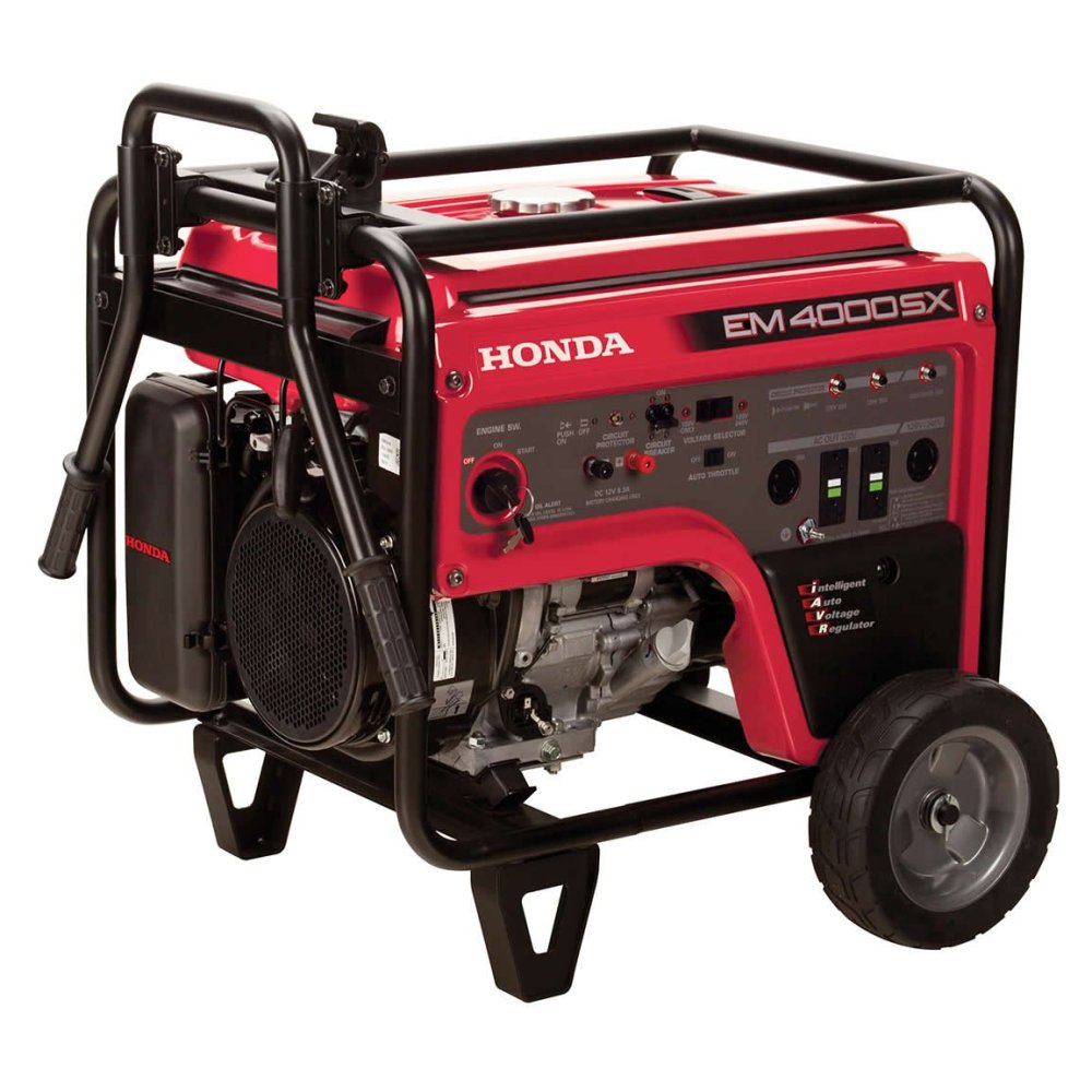 medium resolution of get quotations honda power equipment em4000sxat 4 000w portable generator with iavr technology carb