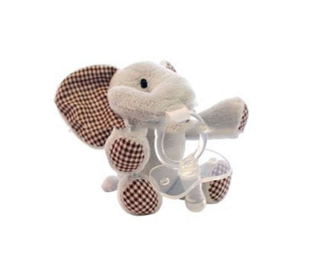 En Ce Standard Custom Wubbanub Infant Plush Toy Pacifier With Stuffed Rabbit