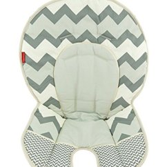 Fisher Price Spacesaver High Chair Cover A For My Mother Summary Buy Space Saver Replacement Dlg99 Gray Zig Zag Pad