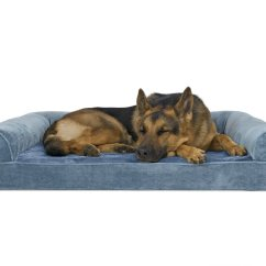 Big Dog Sofa Bed Modern Gray Velvet Cheap Large Find Deals On Line At Get Quotations Furhaven Ultra Plush Orthopedic Couch For Dogs And Cats Available