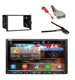 get quotations pyle pldnandvr695 gps android car stereo 2 din dvr receiver with metra 2 din [ 1500 x 1500 Pixel ]