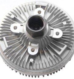 get quotations topaz 2790 cooling fan clutch for dodge 3 9l 5 2l 5 9l [ 1300 x 1200 Pixel ]