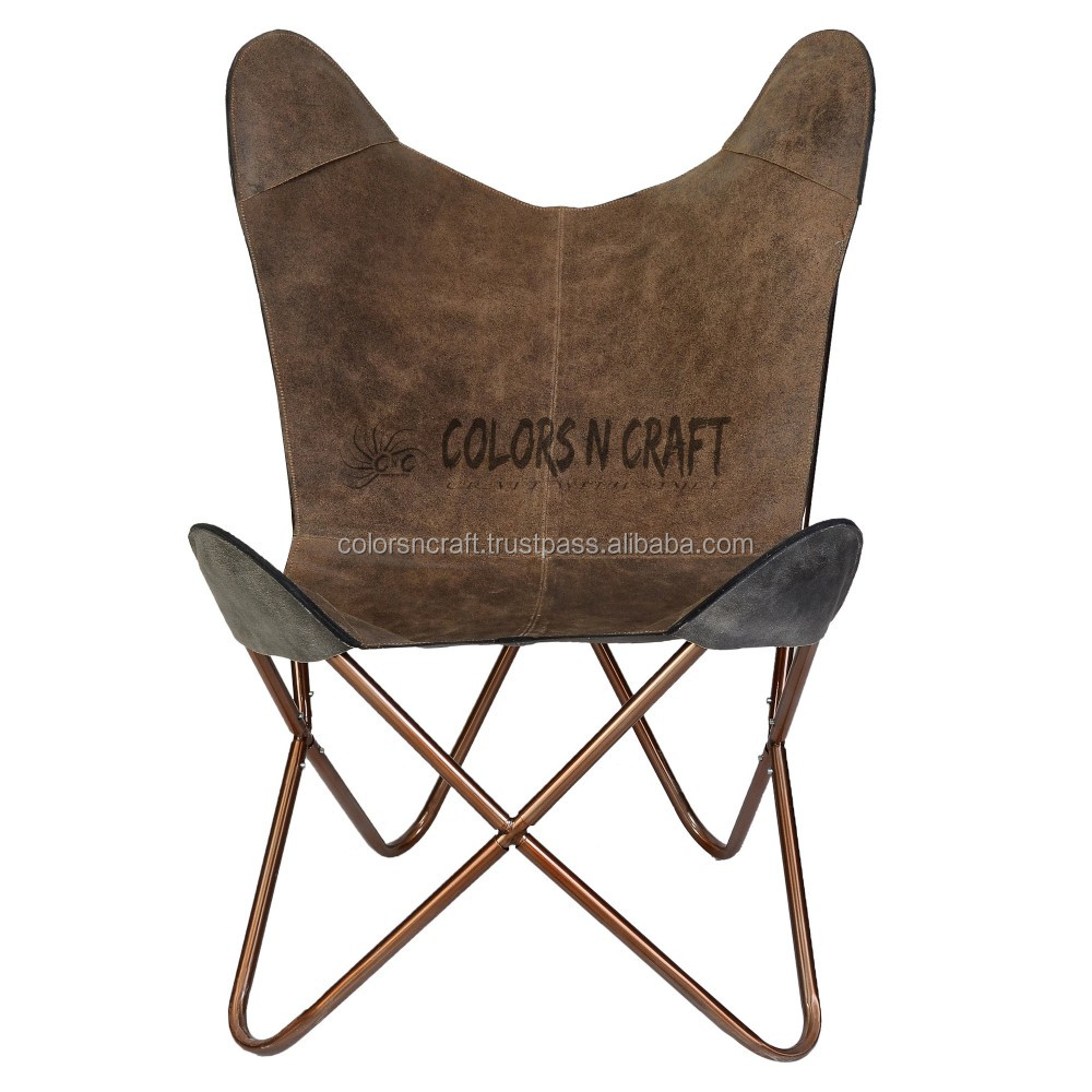 Butterfly Folding Chair High Quality Suede Leather Printed Foldable Butterfly Chair Buy Chair Folding Chair Butterfly Chair Product On Alibaba