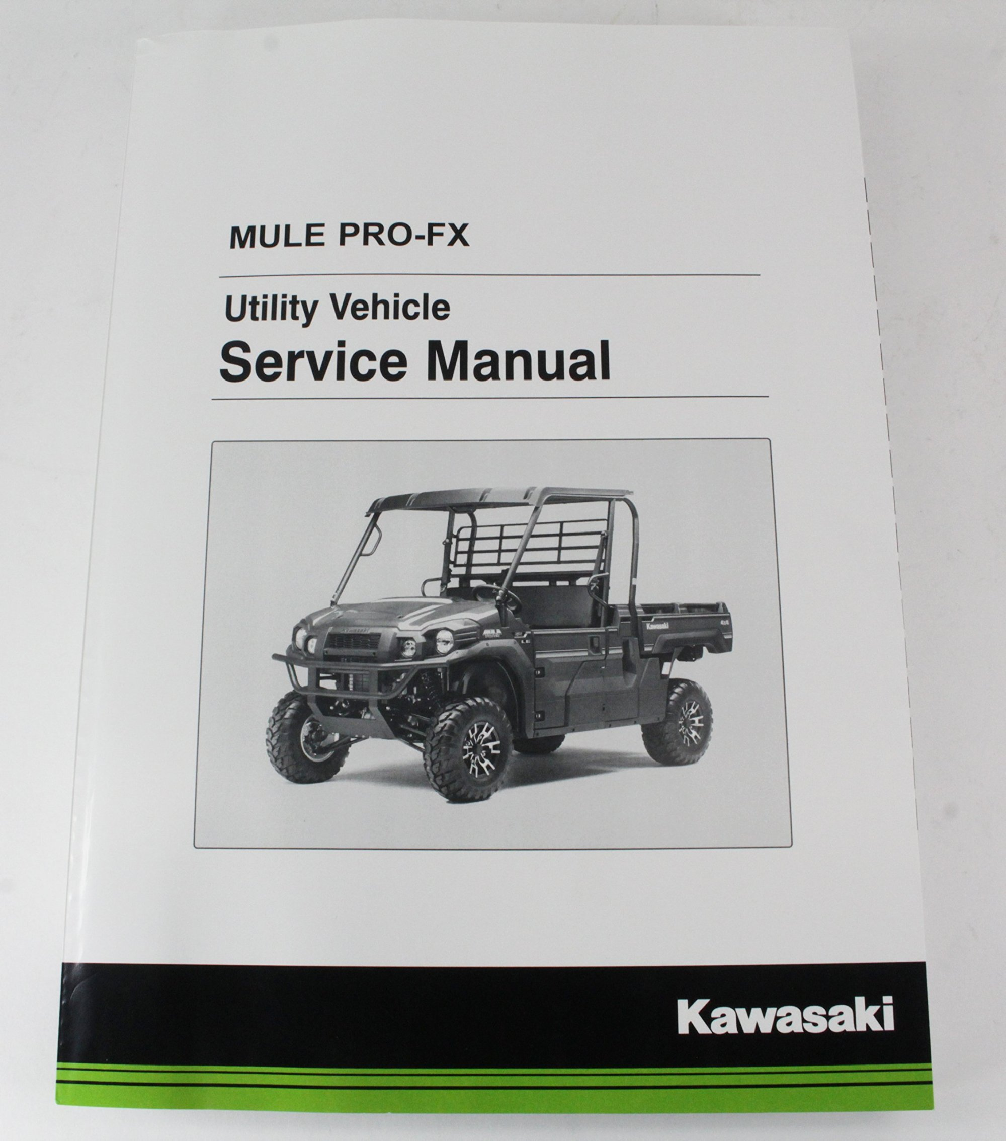 hight resolution of get quotations kawasaki 2016 2017 mule pro fx eps camo le service manual 99924 1498 02