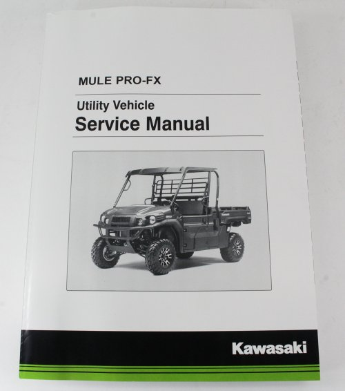small resolution of get quotations kawasaki 2016 2017 mule pro fx eps camo le service manual 99924 1498 02