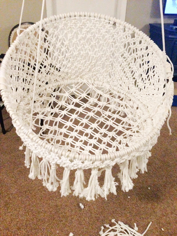 Macrame Baby Swing Hammock Chair