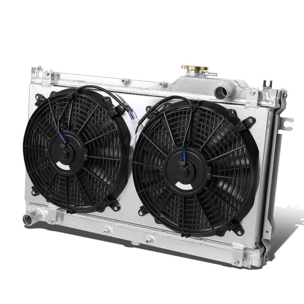 medium resolution of get quotations mazda miata mx 5 aluminum dual core 2 row bolt on cooling radiator
