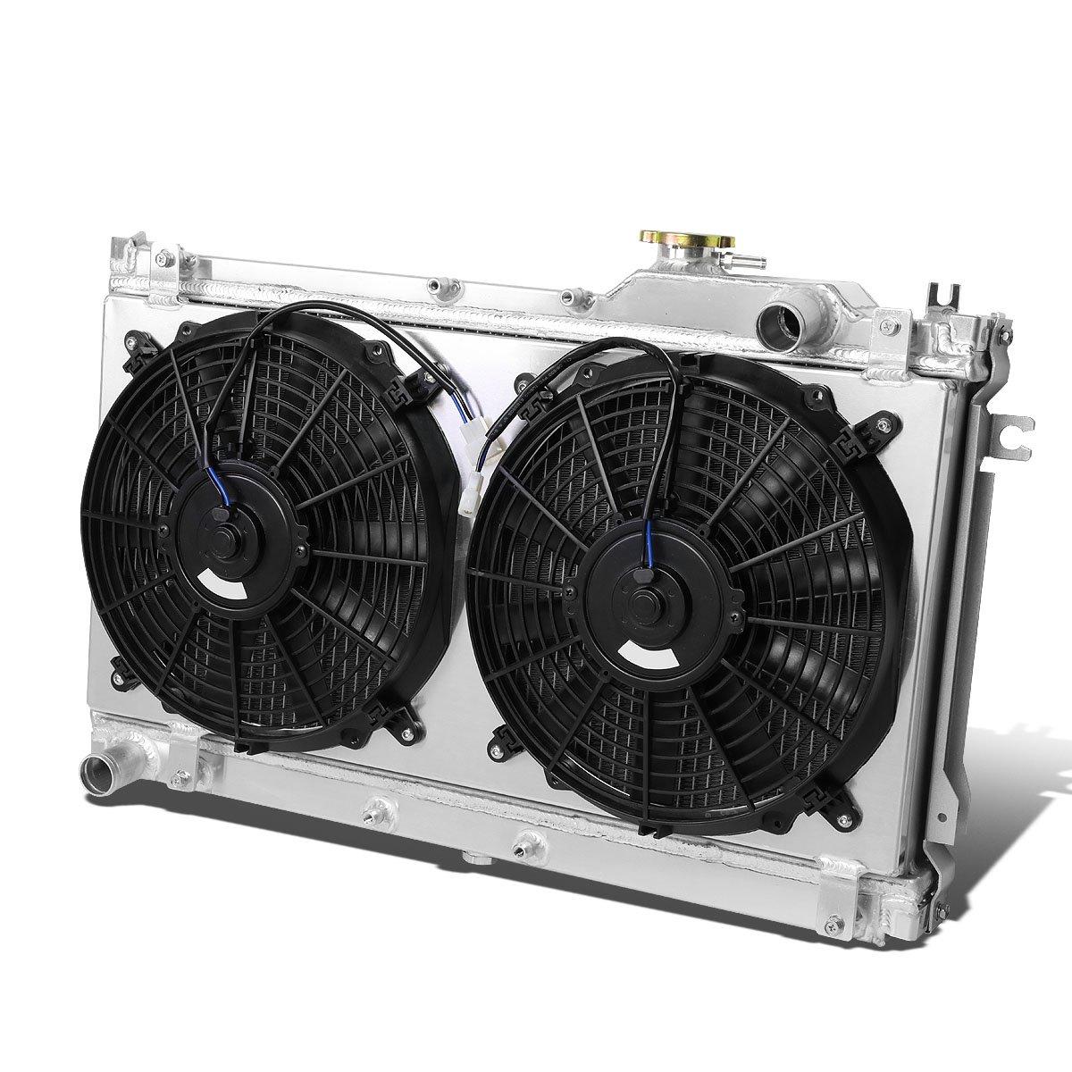 hight resolution of get quotations mazda miata mx 5 aluminum dual core 2 row bolt on cooling radiator