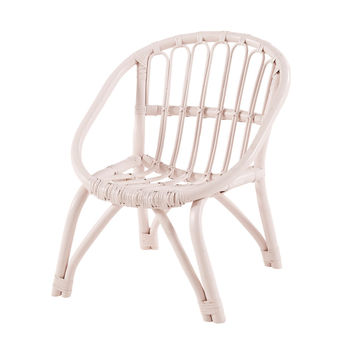 childs rattan chair ikea cushions light pink painted for baby girl buy kid