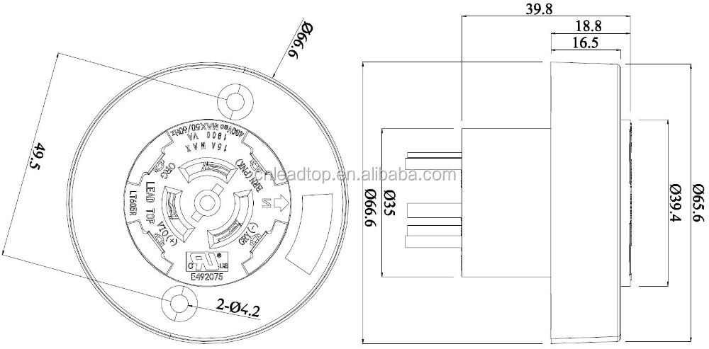 nema socket photocell kit wiring diagram