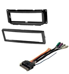 get quotations car radio stereo cd player dash install mounting dash kit wire harness for select chrysler [ 1000 x 1000 Pixel ]