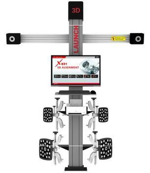 Ce Original Launch X-831t 3d Manual Wheel Alignment