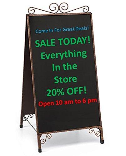 cheap sidewalk easel find