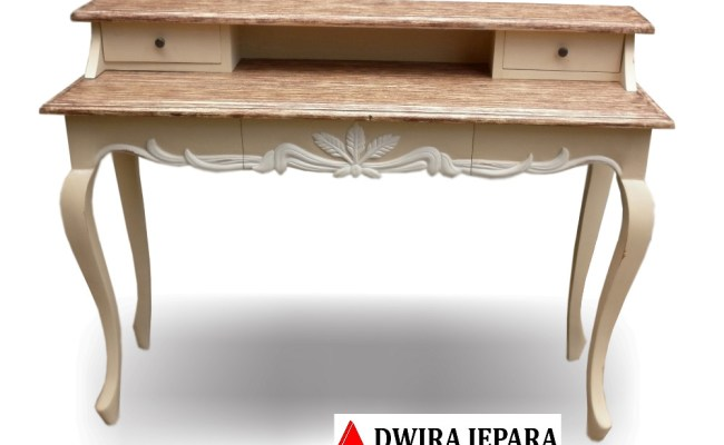 Classic French Furniture Jepara Indonesia Writing Desk