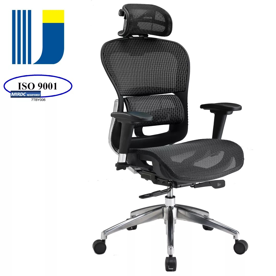 Ergonomic Mesh Office Seating Adjustable Executive Office Chair Design With Lumbar Support And Headrest Buy Ergonomic Mesh Office Seating
