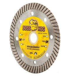 get quotations boss hog 4 1 2 inch turbo masonry diamond blade 7 8 [ 1200 x 1200 Pixel ]