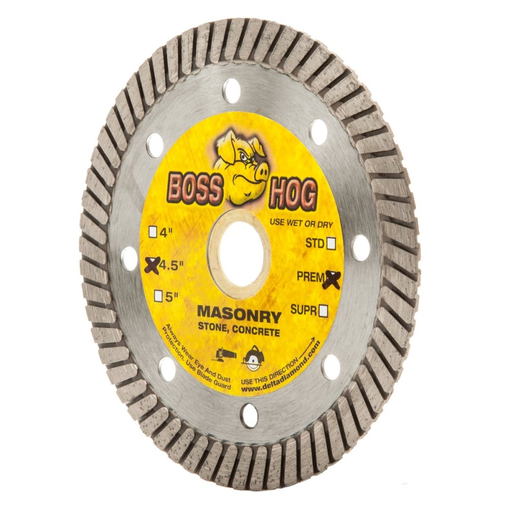medium resolution of get quotations boss hog 4 1 2 inch turbo masonry diamond blade 7 8