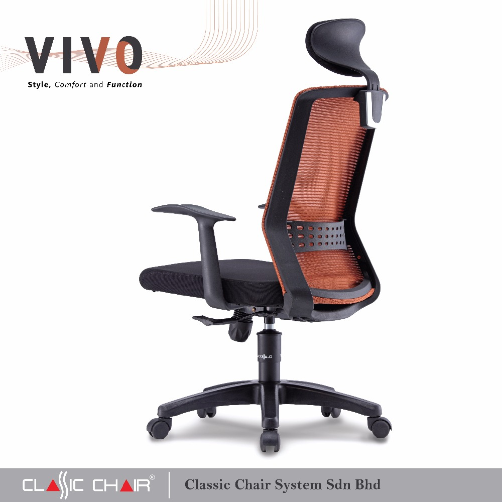 office chair malaysia rocking quad new vivo ergonomic executive mesh buy