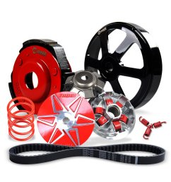 nibbi 150cc transmission kit for gy6 engine scooter pulley plate pulley face clutch clutch housing 1500rpm torque spring 1500rpm clutch spring 835cm belt  [ 1000 x 1000 Pixel ]