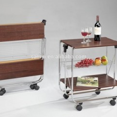 Folding Kitchen Cart Soap Caddy Wooden Buy Product On Alibaba Com