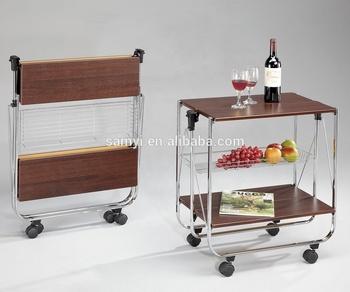 folding kitchen cart sink island wooden buy product on alibaba com
