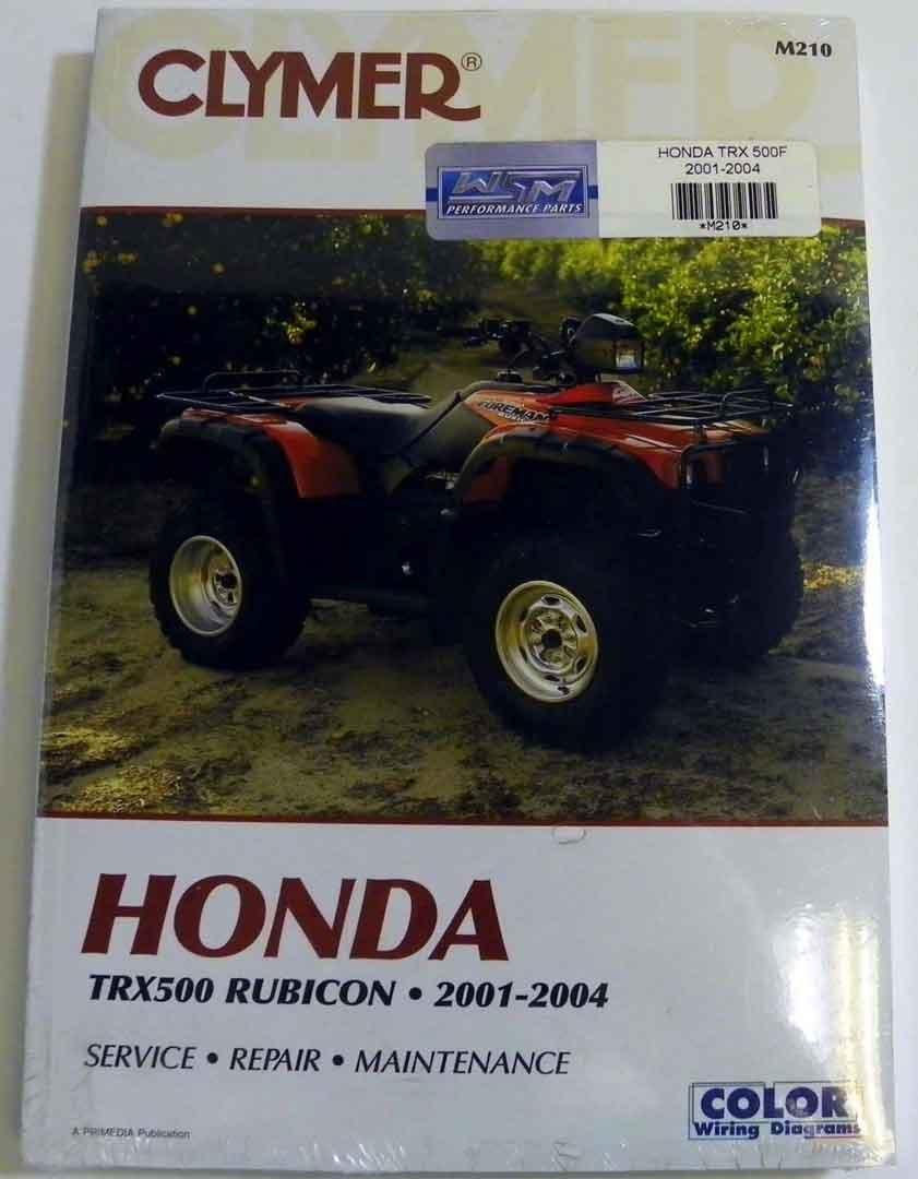 hight resolution of get quotations atv moto x honda clymer manual models trx 500 rubicon 2001