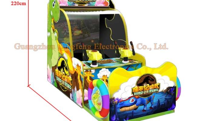 2 Players Exquisite Jurassic Dinosaur Game Machine