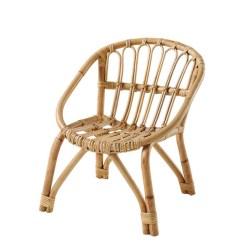 Childs Rattan Chair Ergonomic In Malaysia Scandinavian Style Natural Kid