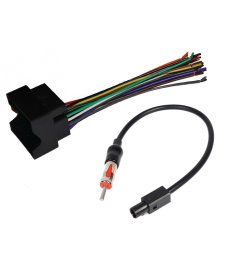 get quotations car stereo radio receiver cd player aftermrket stereo wiring harness radio antenna adapter for select bmw [ 1000 x 1000 Pixel ]