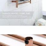 New Rose Gold Electric Ladder Heated Towel Rail Warmer For Bathroom Buy Heated Towel Rail Electric Heated Towel Rail Ladder Heated Towel Rail Warmer Product On Alibaba Com