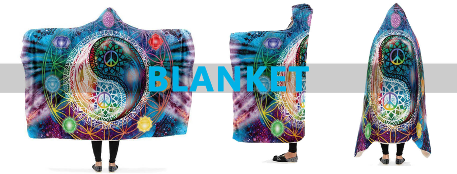 Custom Personalized 100% Polyester Soft Touch Flannel Fleece Hooded Blanket