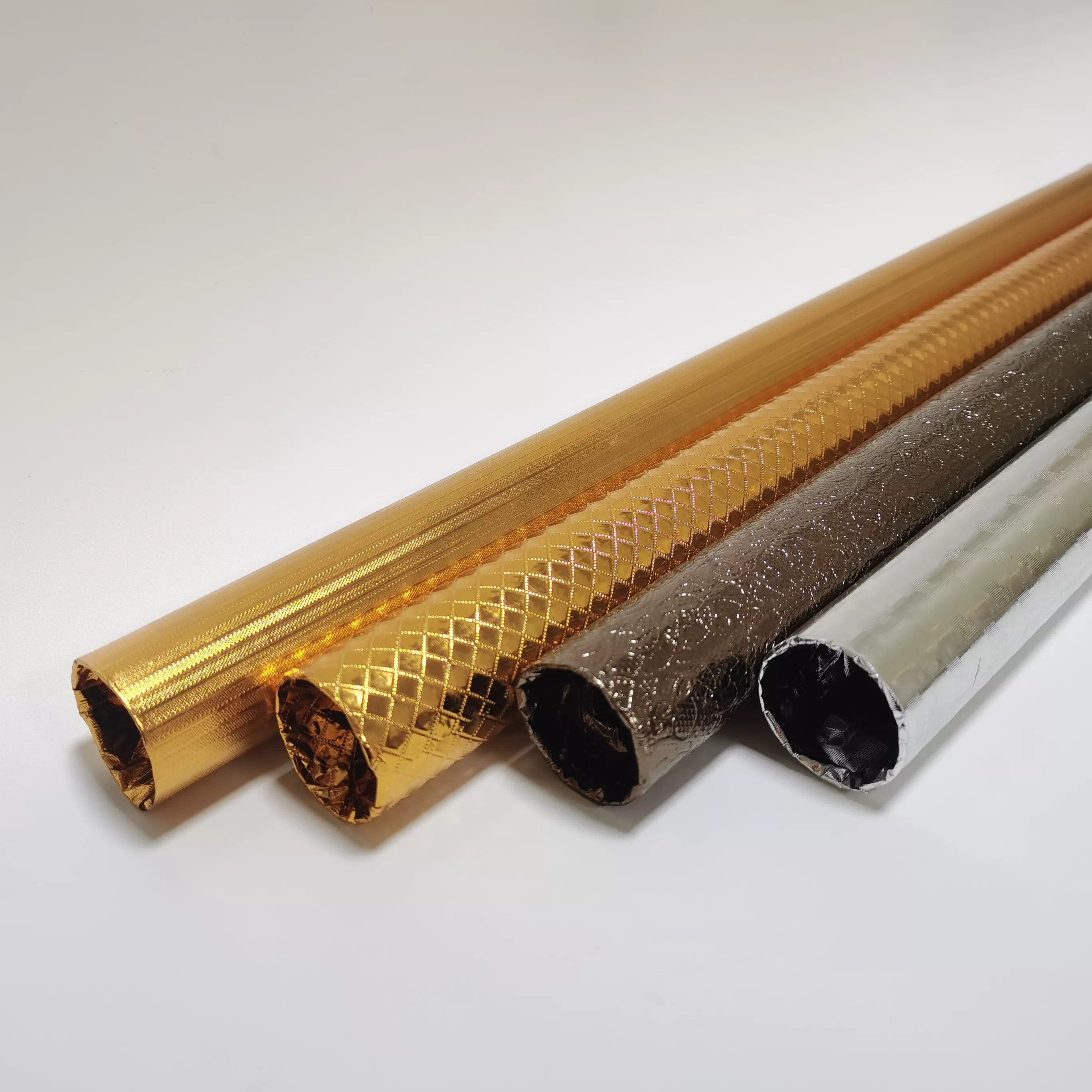 low price iron curtain rod curtain pipe wrapped in golden color plastic paper ir 01 buy iron curtain rods plastic paper wrapped curtain poles round