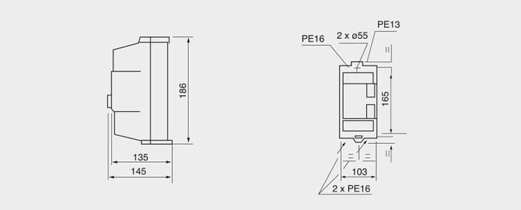 Le1-25 Le1-32 Qcx2 Series Magnetic Starter 25a 32a 220v