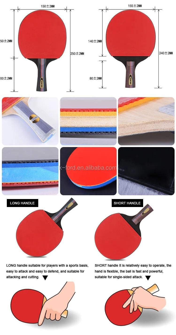 Ukuran Bet Tenis Meja : ukuran, tenis, Standard, Racket, Price, Paddle, Handle, Feeling, Table, Tennis, Pingpong