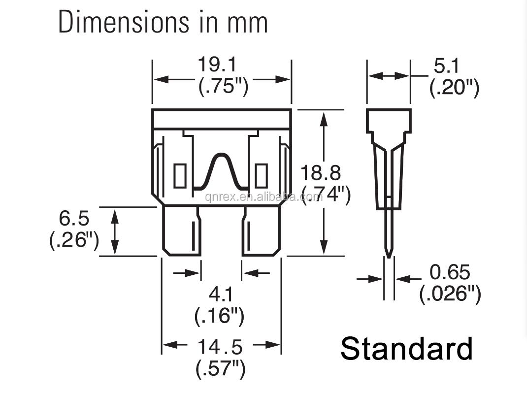 Original Littlefuse Maxi Standard Mini 1a 2a 3a 5a 10a 15a